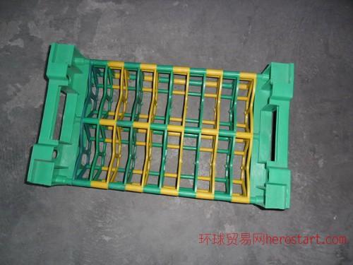 组合式齿轮周转箱|分隔式圆饼周转箱