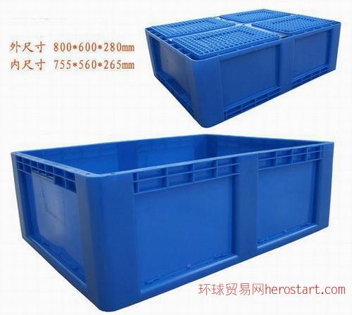 PA800*600*280mm塑料物流箱
