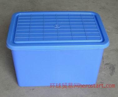 河南许昌焦作带盖塑料储物箱