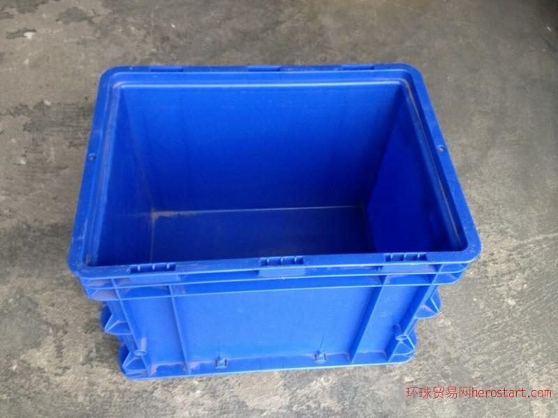潍坊诸城BD型物流箱可翻盖的物流箱