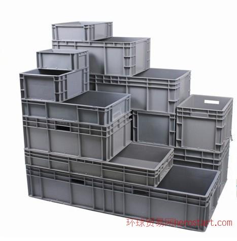 烟台汽车零部件公司专用86系列物流箱|EU系列箱