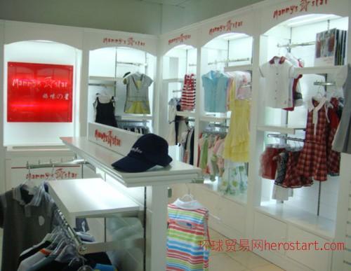 西安品牌服装店装修设计 品牌服装店色彩设计