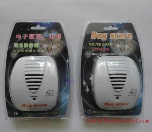 超声波电子驱鼠器 室内电子驱蚊器生产工厂