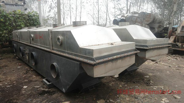 二手流化床干燥机,二手5000L双锥干燥机