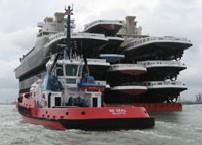 远洋拖轮船舶