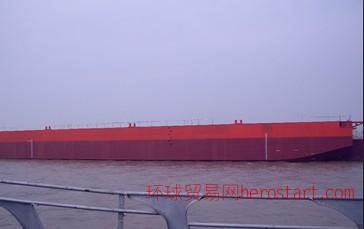 1800吨平板驳船出售(趸船)