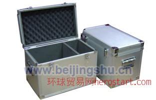 铝合金礼品箱 铝合金LED运输箱