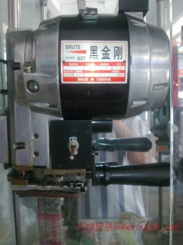 上海黑金刚牌自动磨刀直刀电剪/割布机