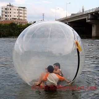 充气水池 充气水上蹦床 充气水上水上步行球