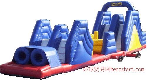 充气障碍 充气城堡 充气跳床 充气滑梯