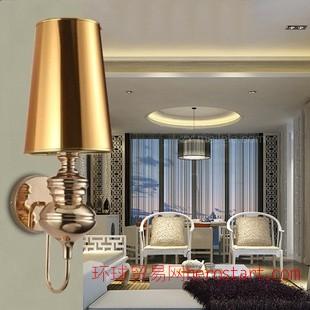 现代简约卫士壁灯 后现代宜家客厅灯餐厅卧室酒店工程用壁灯特价