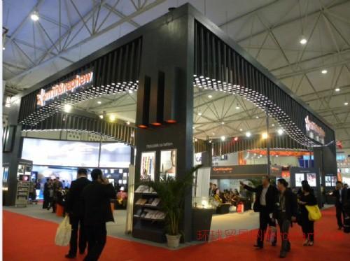 成都大型展览制作工厂  专业展台搭建纯工厂