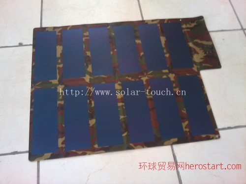 30W折叠薄膜太阳能电池板