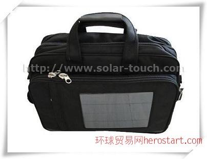 太阳能充电电脑包