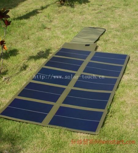 60W折叠薄膜太阳能电池板