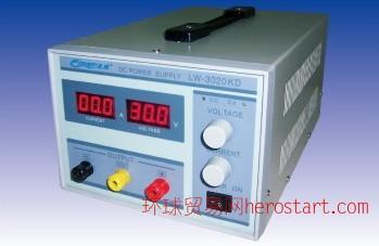 香港龙威LW-3020KD可调式开关电源30V 20A