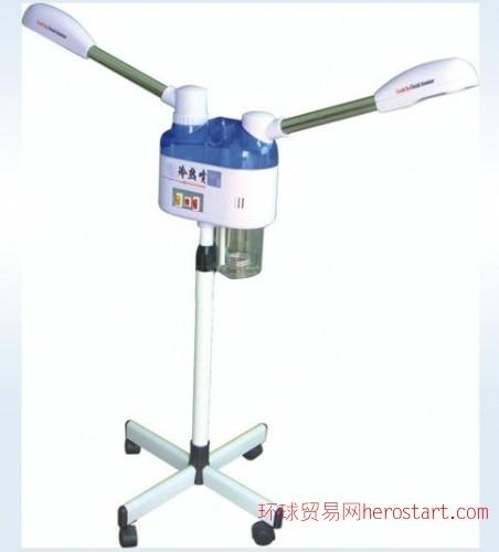 厂家直销美容器材透明双喷头冷热喷雾机