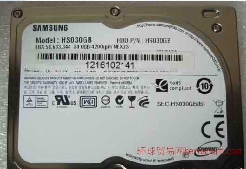 1.8寸 三星 30GB 苹果硬盘 CE接口