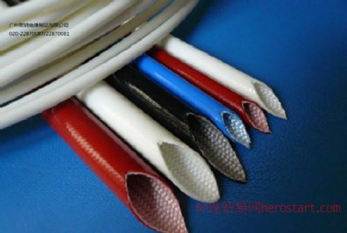 硅橡胶玻璃纤维套管,内纤外胶玻璃纤维套管,内纤外胶套管,外胶内纤玻璃纤维套管,外胶内纤套管