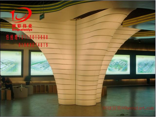北京顶彩洗浴天花 拉膜吊顶 喷绘透光膜灯箱,独一无二的艺术之