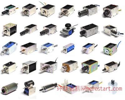 电磁铁定做电磁线圈直流推拉式电磁铁强力牵引电子门锁保险箱