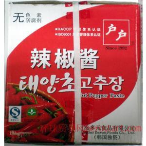 韩国户户辣酱