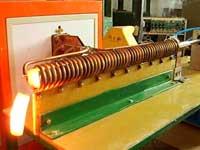 超音频铜阀门热锻电炉
