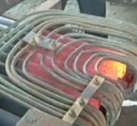 冷拉圆钢、方钢扎头专用超音频加热电炉