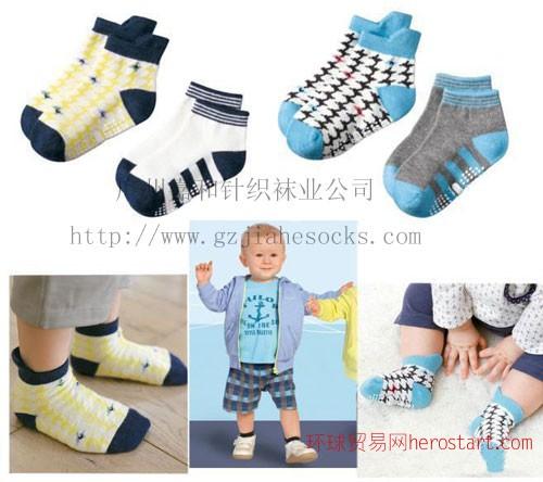 粗针BB儿童船袜