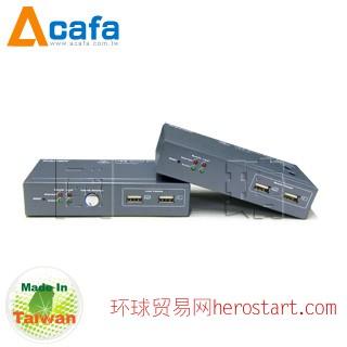 台湾制造Acafa 国瑭 KE200U KVM延长器
