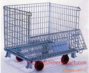 折叠式金属仓储笼W1000*D800*H840