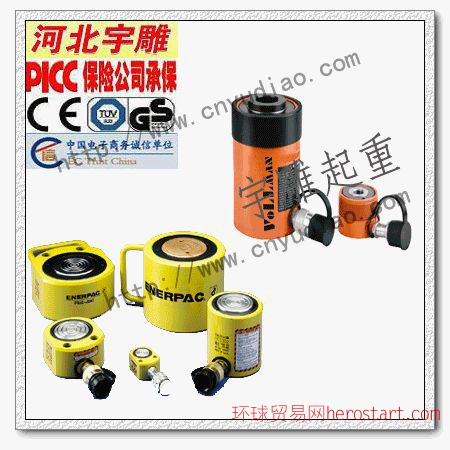 RCS薄型液压缸 美国恩派克液压千斤顶提供授权书