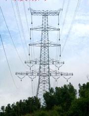 角钢输电塔