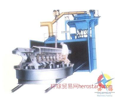 移动台车式抛丸清理机  青铸专业打造(QZ)