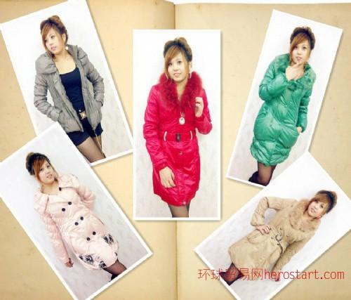 2011新款时尚棉衣