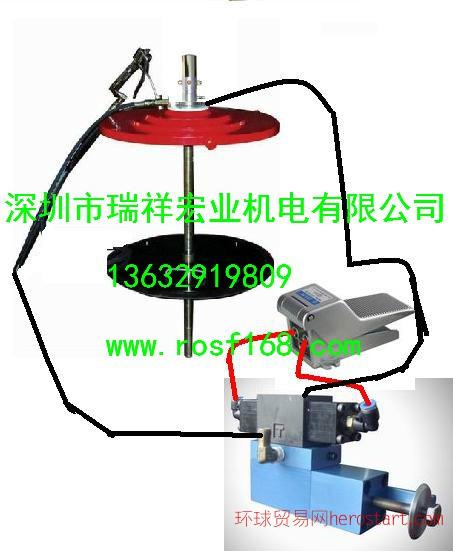 箱包脚轮油脂定量加注设备 定量注脂机