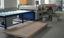 平面滚涂机、淋幕机、保温板涂装生产线