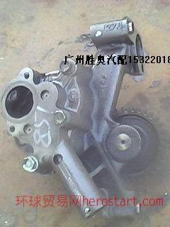 广东广州五十铃8PE1,8PD1汽车配件发动机组件拆车曲轴波箱