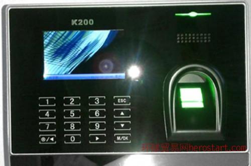 指纹考勤系统-K200彩屏指纹考勤机