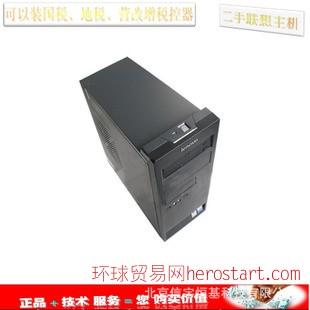 二手台式电脑税控机税控专用电脑质保一年免费送货安装调试好