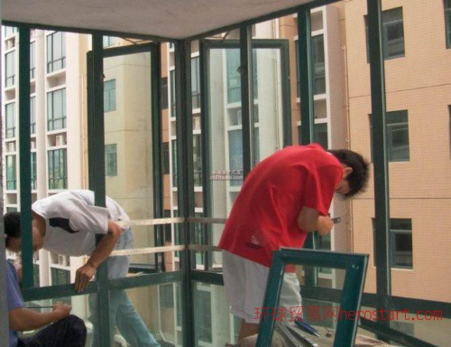 封阳台(铝合金窗 塑钢窗)