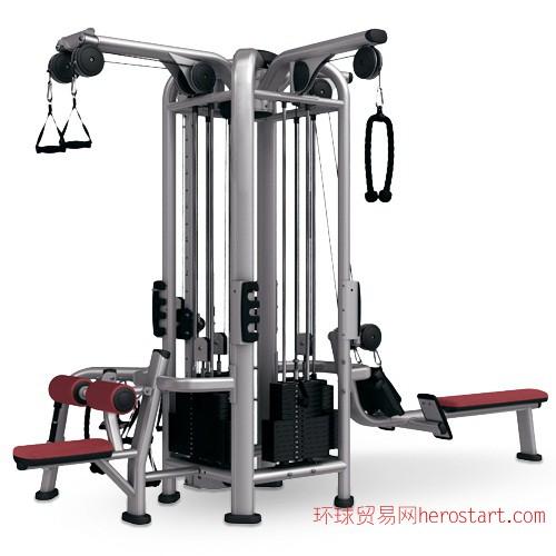 商用健身器材四方位组合训练器