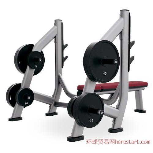 商用健身器材奥林匹克推举杠铃片挂架
