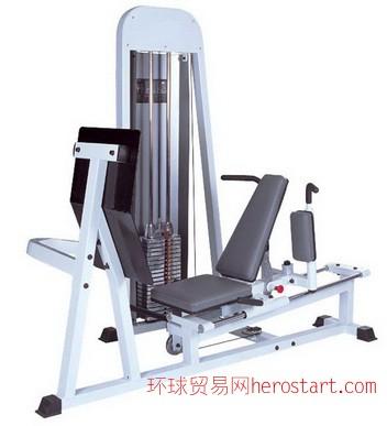 专业力量训练器坐式蹬腿训练器