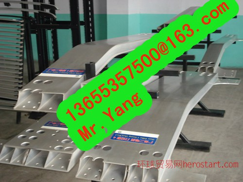 大断面铝合金异型材焊接,铝拉弯,机加工