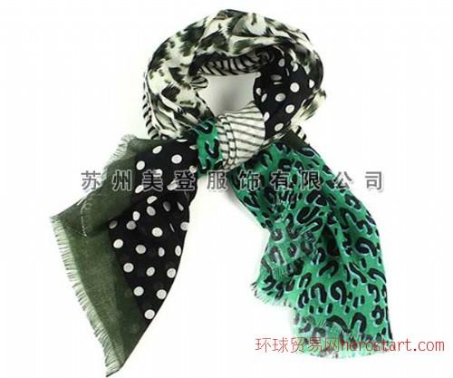 欧美印花围巾生产厂家
