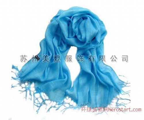 色织亚麻围巾生产厂家