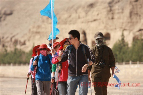 敦煌沙漠穿越一日游