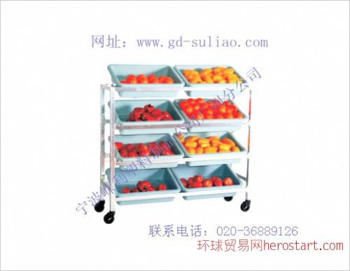 广州水果展示货架、花都货架厂、南昌市轻型货架、广州货架批发
