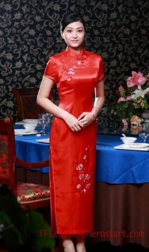 福州市工作服酒店服装、酒店旗袍